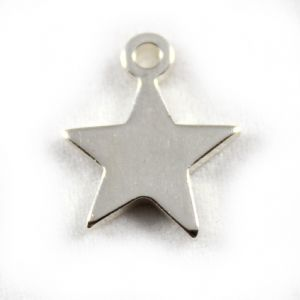 Charm School UK > Sterling Silver Charms > Fantasy / Mystical > Star